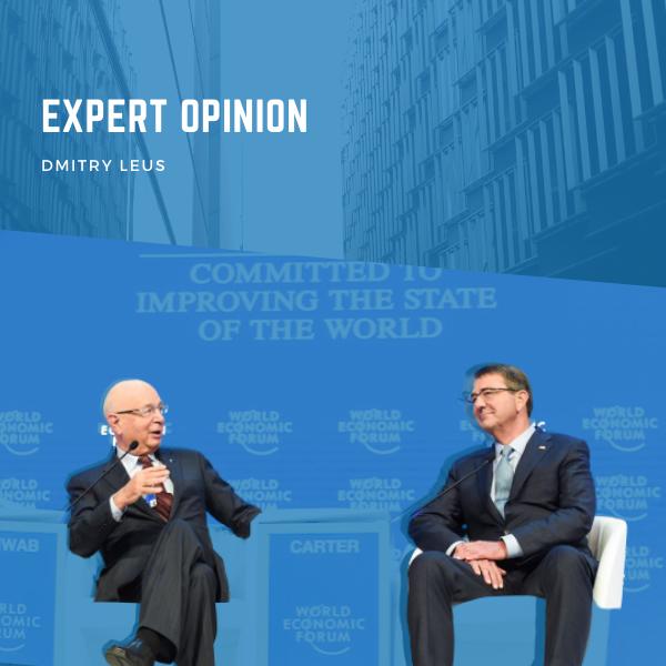 Dmitry Leus: Optimism at World Economic Forum in Davos