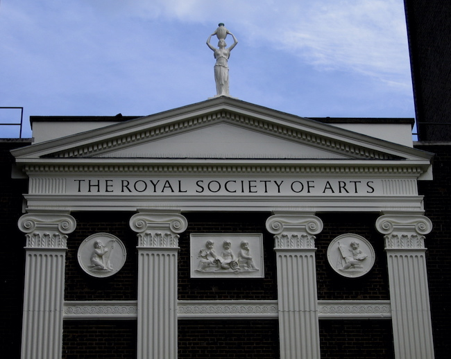 Dmitry Leus becomes a fellow of the Royal Society of Arts
