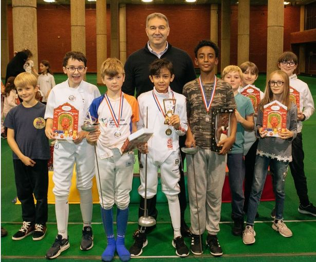 Founder of the Leus Family Foundation, Dimitry Leus FRSA, is also honorary president of Brixton Fencing Club